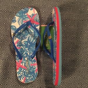 Lilly Pulitzer Shoes - Lilly Pulitzer Pool Flip-Flop